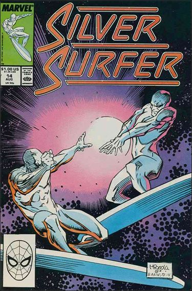 Silver Surfer (1987) 14-A by Marvel