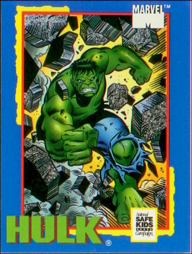 Trading Card Treats (Marvel Subset) nn-3-A by Impel