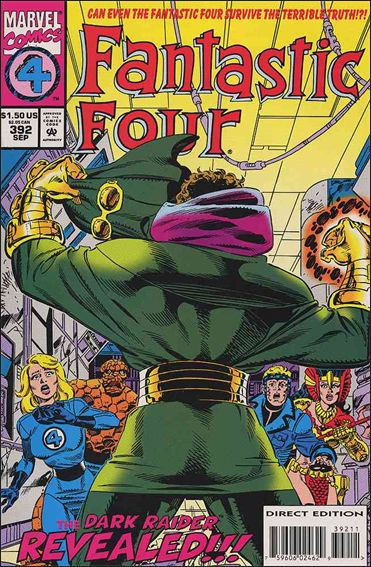 Fantastic Four (1961) 392-A by Marvel