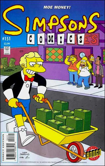 Simpsons Comics 151-A by Bongo