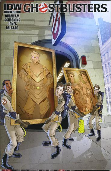 Ghostbusters (2011) 16-B by IDW