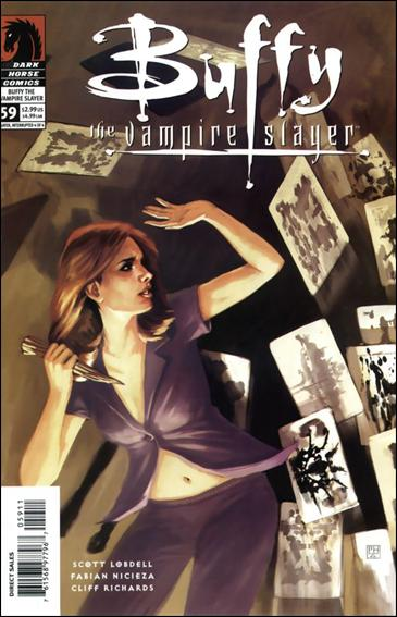Buffy the Vampire Slayer 59-A by Dark Horse