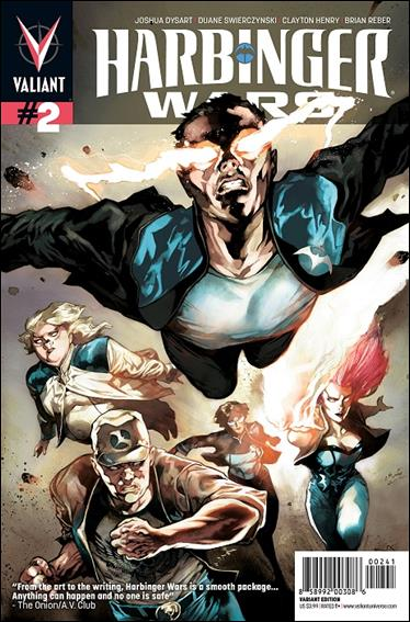 Harbinger Wars 2-D by Valiant Entertainment