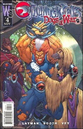 Thundercats Wildstorm on Thundercats  Dogs Of War 4 B  Nov 2003 Comic Book By Wildstorm