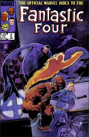 Official Marvel Index to the Fantastic Four 2-A by Marvel