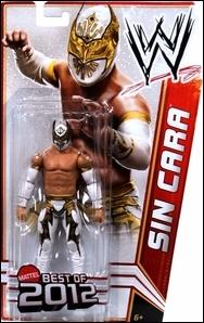WWE (Best of 2012) Sin Cara by Mattel