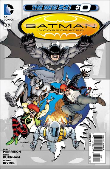 Batman Incorporated 0-A by DC