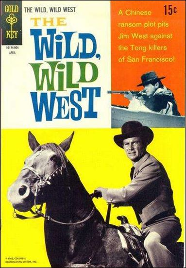 Wild, Wild West 5-A by Gold Key