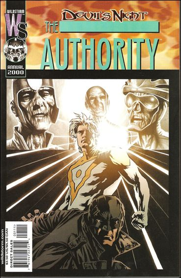 Authority Annual 2000-A by WildStorm