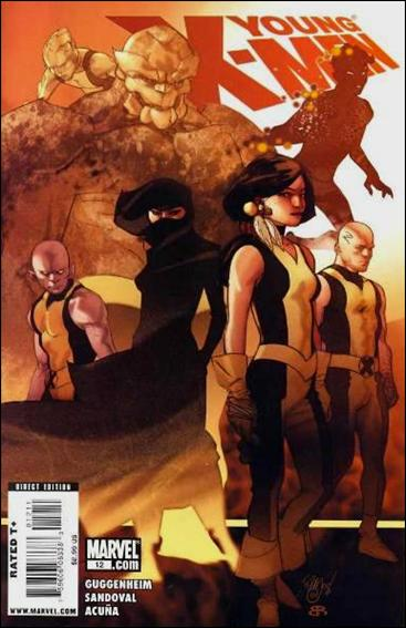 Young X-Men 12-A by Marvel