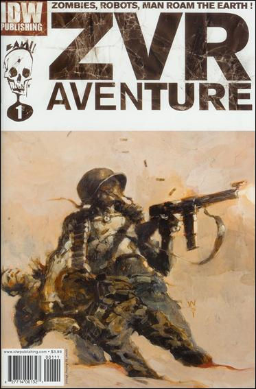 Zombies vs Robots Aventure 1-A by IDW