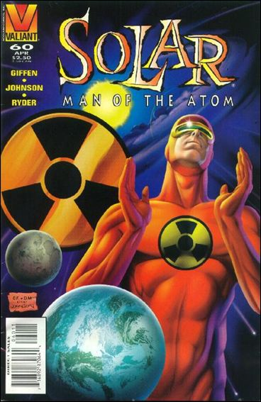 Solar, Man of the Atom (1991) 60-A by Valiant