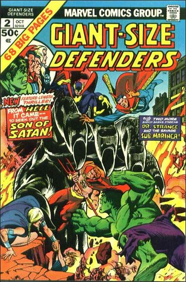Giant-Size Defenders 2-A by Marvel