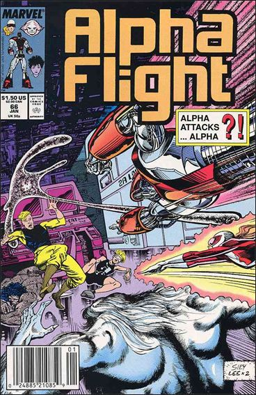 Alpha Flight (1983) 66-A by Marvel