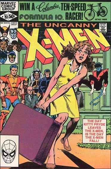 Uncanny X-Men (1981) 151-A by Marvel