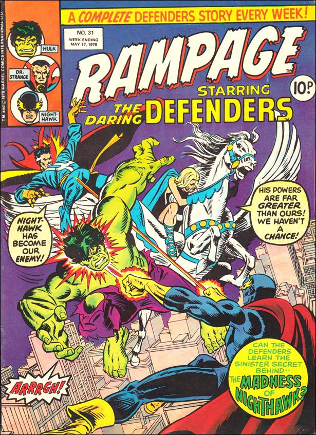 Rampage Weekly (UK) 31-A by Marvel UK