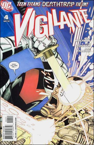 Vigilante (2009) 4-A by DC