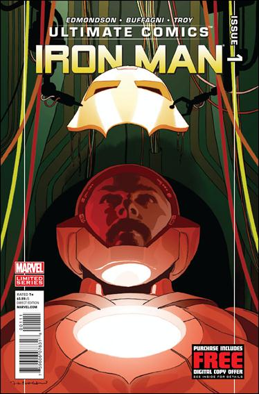 Ultimate Comics Iron Man 1-A by Marvel