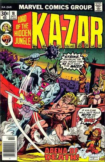Ka-Zar (1974) 18-A by Marvel