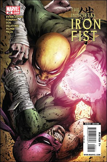 Immortal Iron Fist 26-A by Marvel