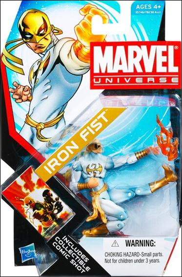 Marvel Universe (Series 4) Iron Fist (White Costume) by Hasbro