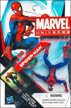 Marvel Universe (Series 4) Spider-Man (Peter Parker) by Hasbro