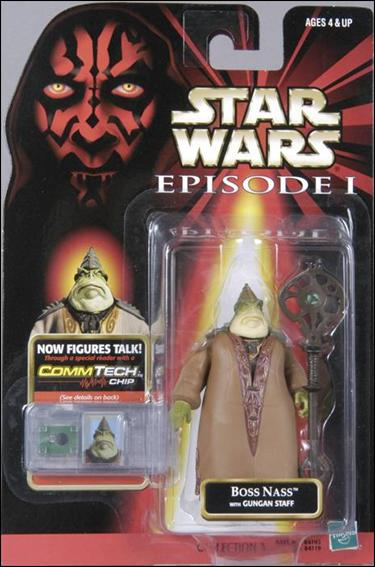 "Star Wars: Episode I 3 3/4"" Basic Action Figures Boss Nass (No Logos) by Hasbro"