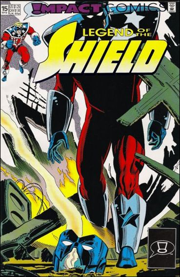 Legend of the Shield 15-A by Impact Comics