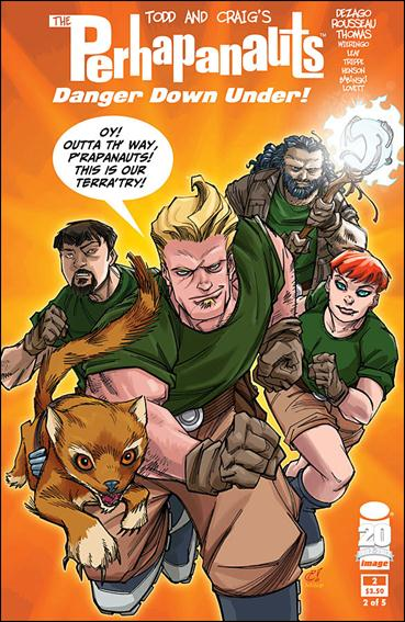 Perhapanauts: Danger Down Under 2-A by Image