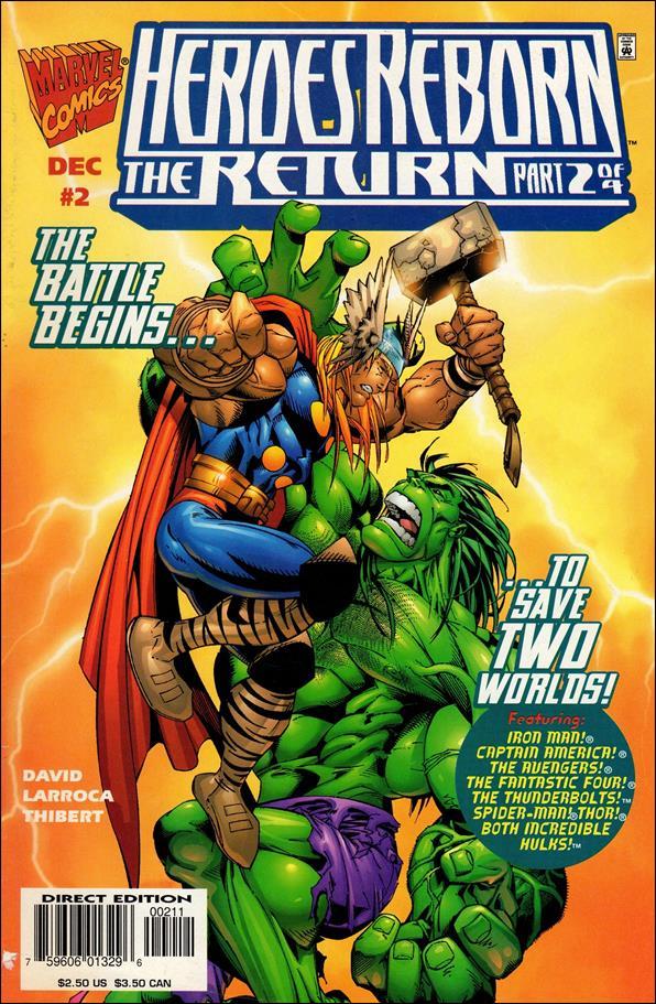 Heroes Reborn: The Return 2-B by Marvel