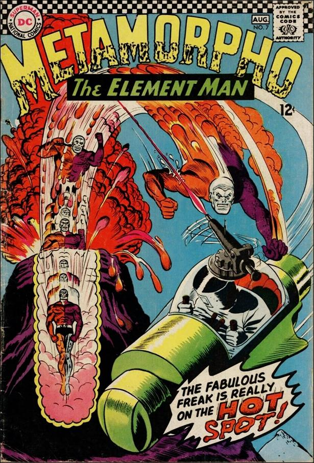 Metamorpho (1965) 7-A by DC