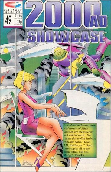 2000 A.D. Showcase (1988) 49-A by Quality Comics
