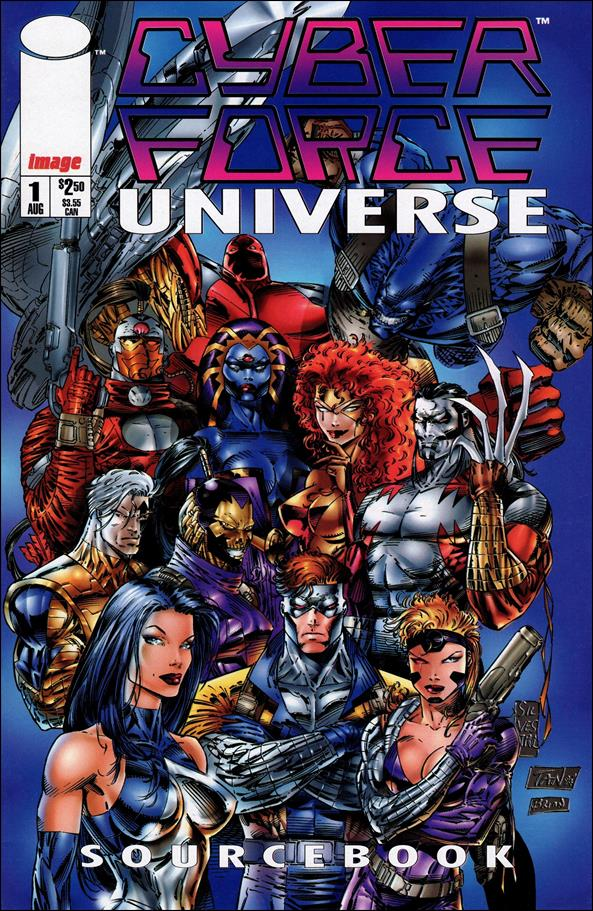 Cyberforce Universe Sourcebook 1-A by Image
