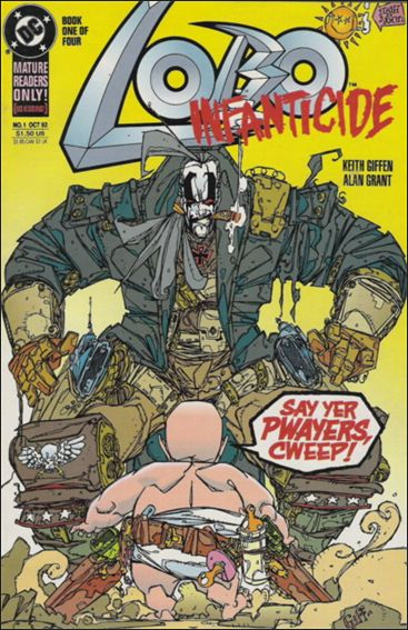 Lobo: Infanticide 1-A by DC