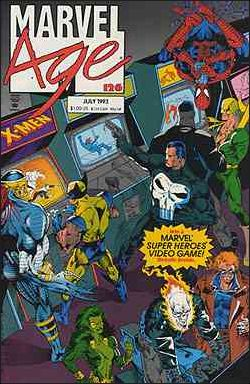 Marvel Age 126-A by Marvel