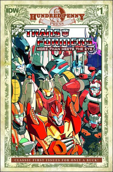 Transformers: More Than Meets the Eye (2012) 1-I by IDW