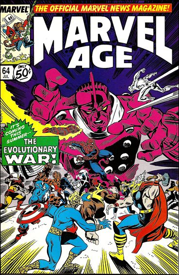 Marvel Age 64-A by Marvel