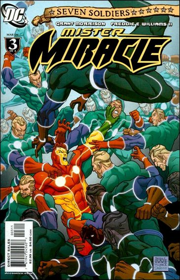 Seven Soldiers: Mister Miracle 3-A by DC