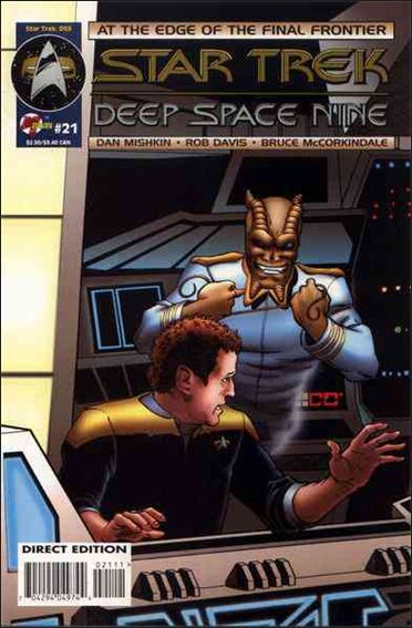 Star Trek: Deep Space Nine (1993) 21-A by Malibu