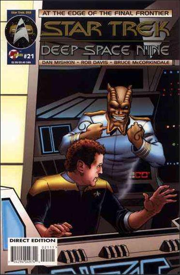 Star Trek: Deep Space Nine (1993) 21-A by Malibu