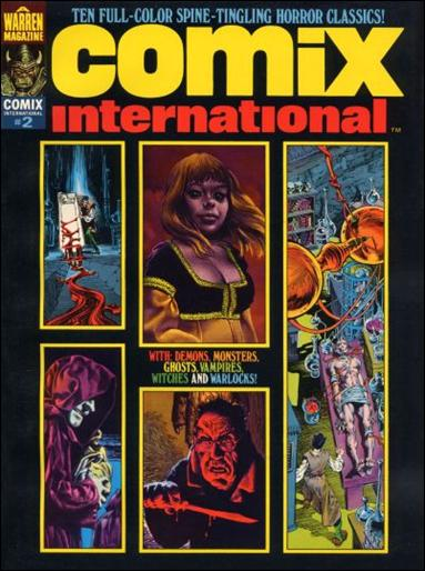 Comix International 2-A by Warren