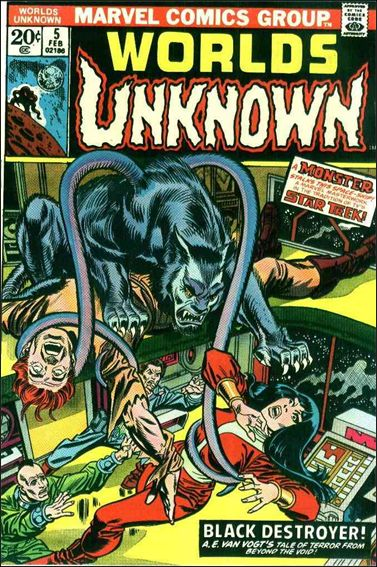 Worlds Unknown 5-A by Marvel