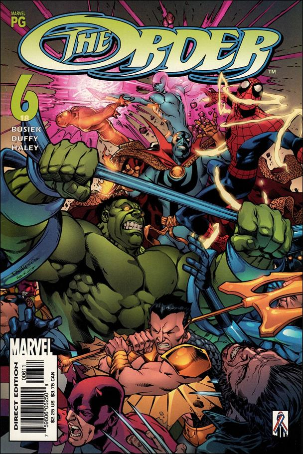 Order (2002) 6-A by Marvel
