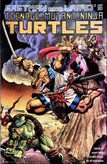 Teenage Mutant Ninja Turtles (1984) 47-A by Mirage