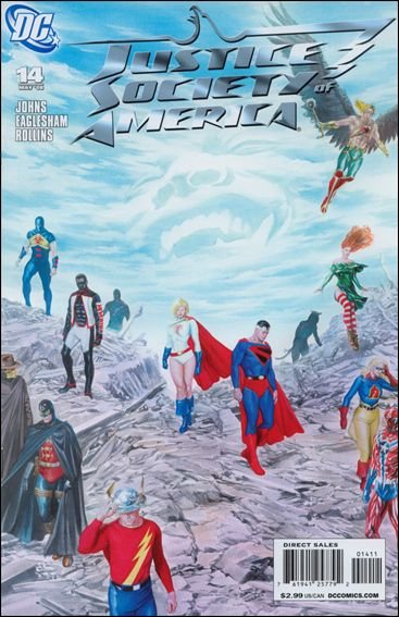 Justice Society of America (2007) 14-A by DC