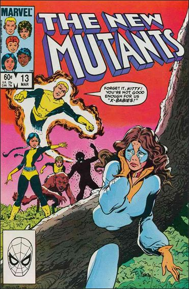 New Mutants (1983) 13-A by Marvel