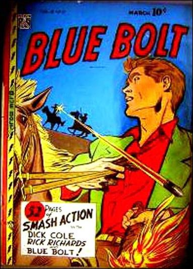 Blue Bolt (1947) 10-A by Premium