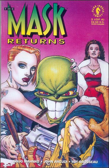 Mask Returns 2-A by Dark Horse