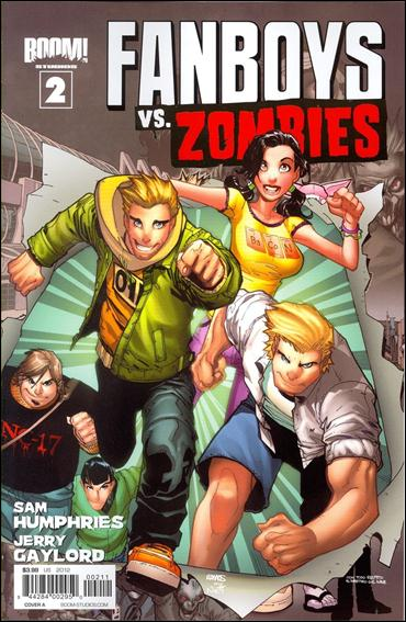Fanboys vs Zombies 2-A by Boom! Studios