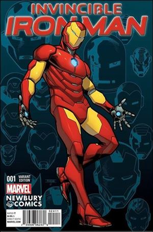 Invincible Iron Man (2015)  1-YD